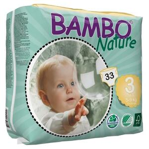 Bambo Nature Midi  ~ 5 - 9kg Nappies (Size 3)