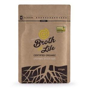 Broth of Life Chicken Broth Salt ~ 100g