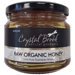 Crystal Brook Organic Raw Honey (Organic) ~ 400g