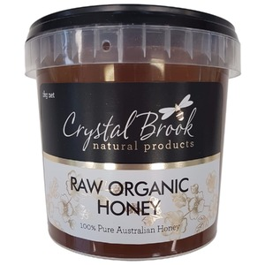 Crystal Brook Organic Raw Honey (Organic) ~ 1kg