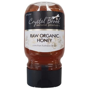 Crystal Brook Organic Raw Honey Squeezy (Organic) ~ 500g