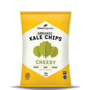 Ceres Organics Rice Kale Chips Cheesy (Organic) ~ 40g