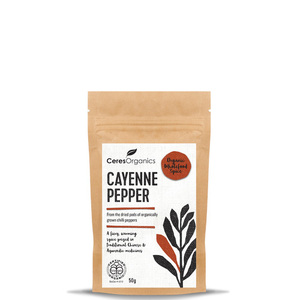 Ceres Organic Cayenne Pepper ~ 50g