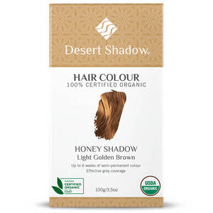 Desert Shadow Organic Hair Dye - Honey Shadow 100g