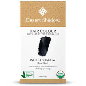 Desert Shadow Organic Hair Dye - Indigo Shadow 100g