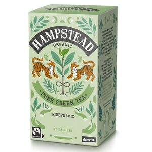 Hampstead Tea Clean Green (Organic) ~ 20 Tea Sachets ~ 40g