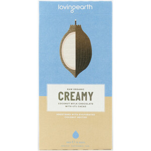 Loving Earth Creamy Coconut Mylk Chocolate (Organic) ~ 80g