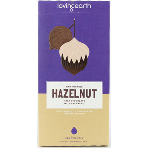 Loving Earth Hazelnut Mylk Chocolate (Organic) ~ 80g