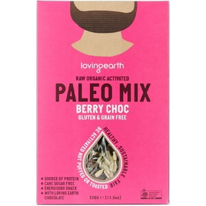 Loving Earth Paleo Berry Choc Mix (Organic) ~ 320g