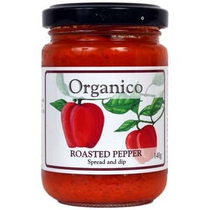 Organico Roasted Pepper Spread & Dip (Organic) ~ 140g