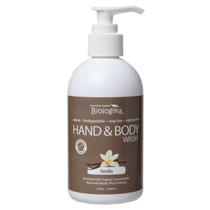 Australian Biologika Vanilla Hand & Body Wash ~ 250ml