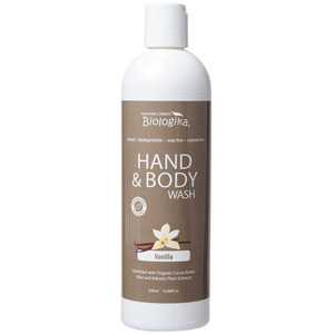 Australian Biologika Vanilla Hand & Body Wash ~ 500ml