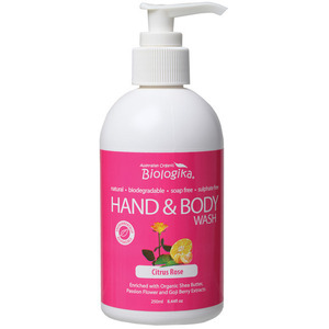 Australian Biologika Citrus Rose Hand & Body Wash ~ 250ml