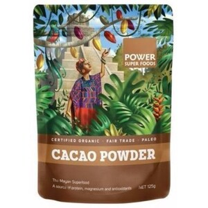 Power Super Foods Cacao Powder (Organic) ~ 125g