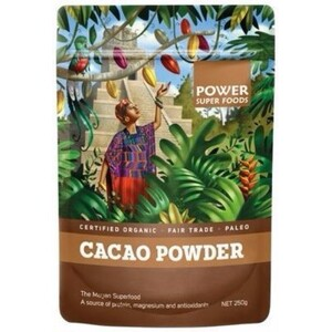 Power Super Foods Cacao Powder (Organic) ~ 250g