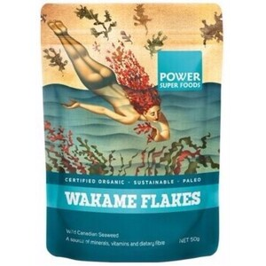 Power Super Foods Wakame Flake (Organic) ~ 50g