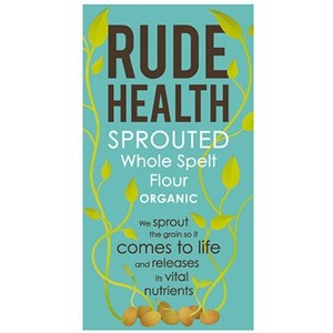 Rude Health Sprouted Whole Spelt Flour (Organic) ~ 500g