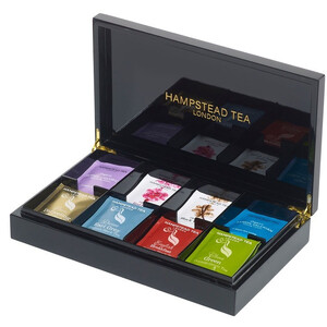 Hampstead Tea Display Box (Full) ~ Black