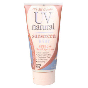 UV Natural Baby Sunscreen SPF 30+ ~ 150g