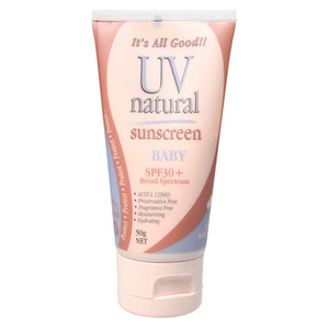 UV Natural Baby Sunscreen SPF 30+ ~ 50g