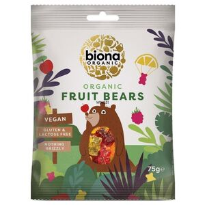 Biona Mini Fruit Bears (Organic) ~ 75g
