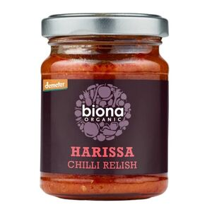 Biona Harrissa Chilli Relish (Organic) ~ 125g