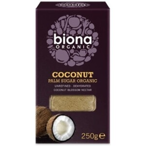 Biona Coconut Palm Sugar (Unrefined) (Organic) ~ 250g