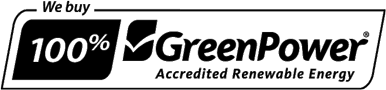 We buy 100% GreenPower