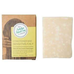 The Australian Natural Soap Co Solid Shampoo Bar ~ Sensitive Scalp ~ 100g