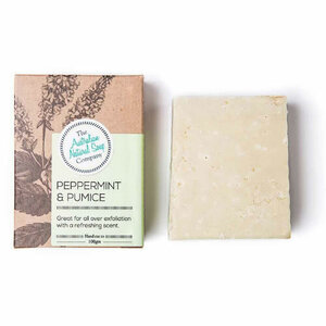 The Australian Natural Soap Co Peppermint & Pumice Soap ~ 100g
