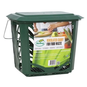 BioBag MaxAir II Ventilated Food Waste Bin ~ 7 Litres