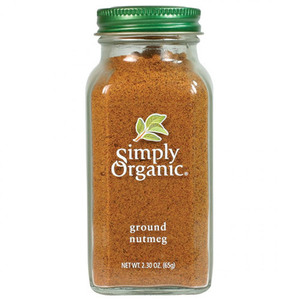 Simply Organic Nutmeg Ground (Glass Jar) ~ 65g