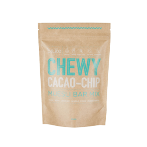 Bake Mixes Muesli Bar Mix Chewy Cacao-Chip ~ 250g