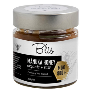 BLIS Manuka Honey (Organic Raw) ~ MGO 800+