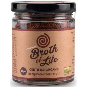 Broth of Life Beef Broth (Organic) ~ 90g