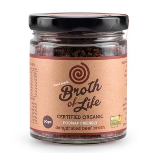 Broth of Life Beef Bone Broth FODMAP (Organic) ~ 90g