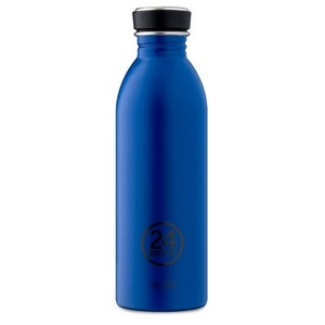 24Bottles - Urban Bottle Gold Blue ~ 500ml