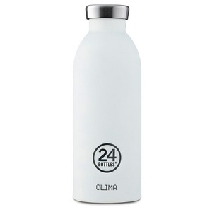 24Bottles - Clima Bottle Ice White ~ 500ml