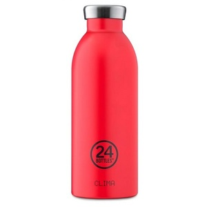 24 Bottles Clima Bottle Hot Red ~ 500ml