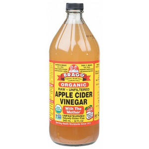 Bragg Apple Cider Vinegar Unpasteurised & Unfiltered (Organic) ~ 946ml
