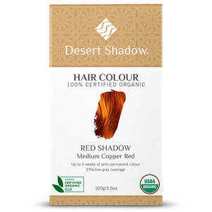 Desert Shadow Organic Hair Dye - Red Shadow 100g