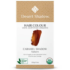 Desert Shadow Organic Hair Dye - Caramel Shadow 100g