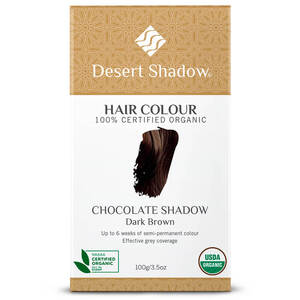 Desert Shadow Organic Hair Dye - Chocolate Shadow 100g