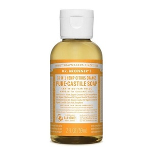 Dr. Bronner's Castile Liquid Soap Citrus (Organic) ~ 59ml