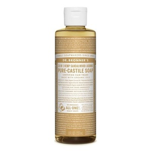 Dr. Bronner's Castile Liquid Soap Sandalwood (Organic) ~ 237ml
