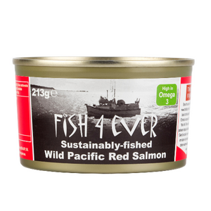 Fish4Ever Wild Pacific Red Salmon ~ 213g