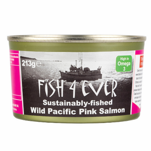 Fish4Ever Wild Pacific Pink Salmon ~ 213g