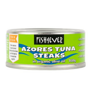 Fish4Ever Skipjack Tuna Steaks in Olive Oil ~ 160g