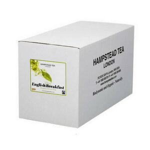 Hampstead Tea English Breakfast Tea (Organic ) ~ 1000 Tea Bags