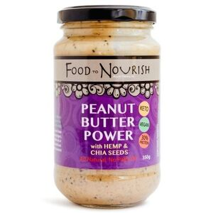 Food to Nourish Peanut Butter Power 350g